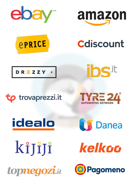 Sincronizzato con marketplace, comparatori e cataloghi Dropshipping